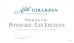 2015 Pommard 1er Cru, Les Epenots, Domaine Aleth Girardin