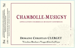 2013 Chambolle-Musigny, Domaine Christian Clerget