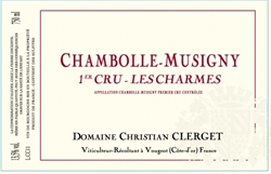 2017 Chambolle-Musigny 1er cru, Les Charmes, Domaine Christian Clerget