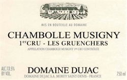 2018 Chambolle-Musigny 1er Cru, Les Gruenchers, Domaine Dujac