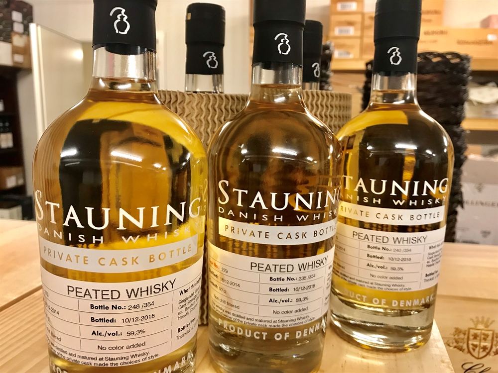 STAUNING, Private Cask No. 279, Single Malt, Peated Whisky, 59,3%